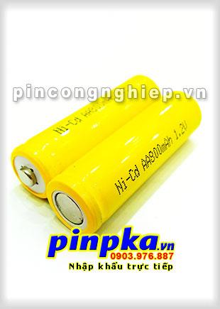 Pin Sạc Công Nghiệp-Pin Cell 1,2v NiCD AA 800mAh